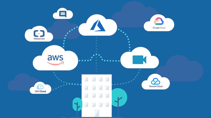 Cloud network diagram